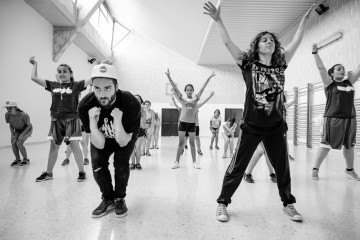 Actividades Danza en Campamento WOB