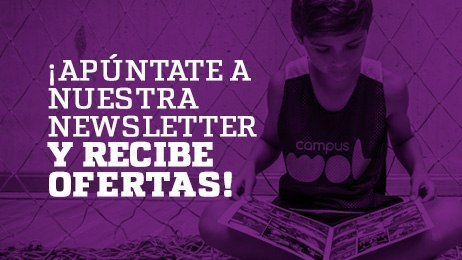 Apúntate al newsletter de Campus WOB