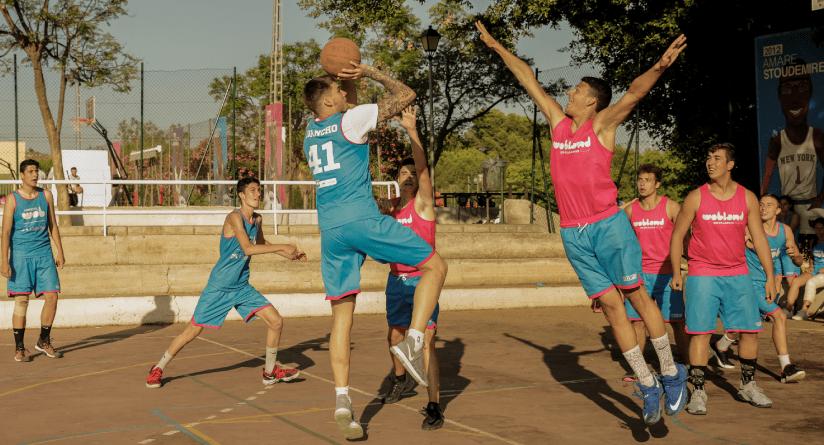 creatividad en el baloncesto