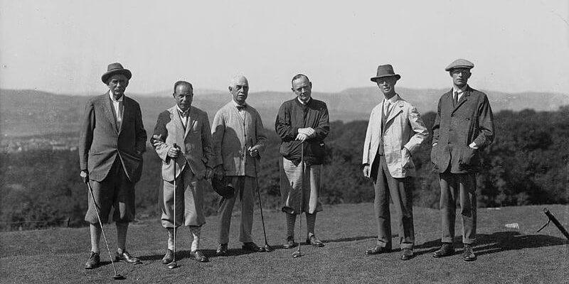 Origen y historia del golf
